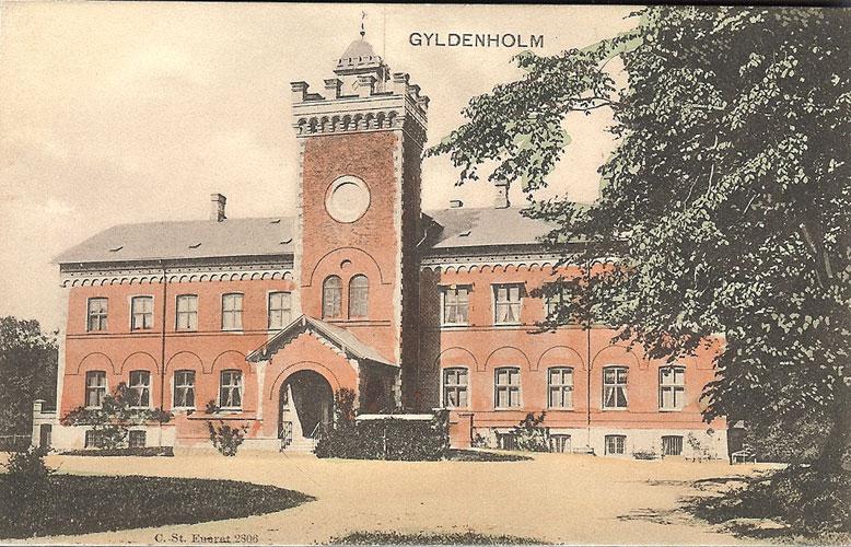 Postkort fra Slagelse - Gyldenholm